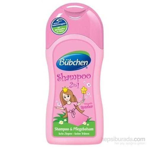 Bübchen Çocuk Şampuan Ve Krem Prenses Rosalea (Kız, 2Si 1 Arada) 200Ml