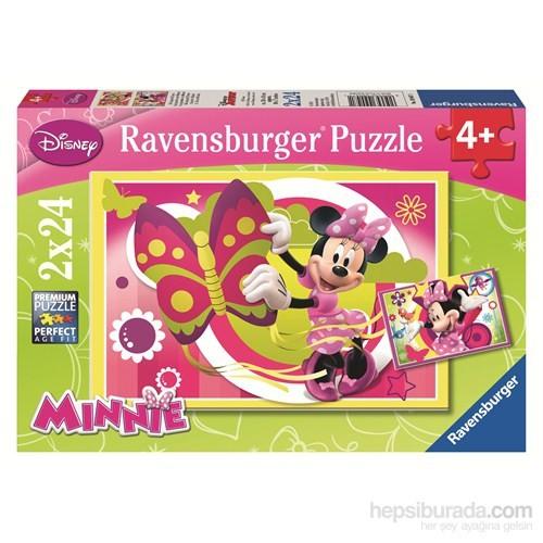Ravensburger WD Minnie ile Bir Gün - 2x24 Parçalı