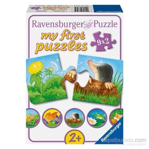 Ravensburger Puzzle / Bahçe Hayvanları 9x2 Parça
