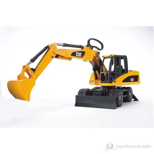 Bruder Caterpillar Tekerlekli Ekskavatör - 02445