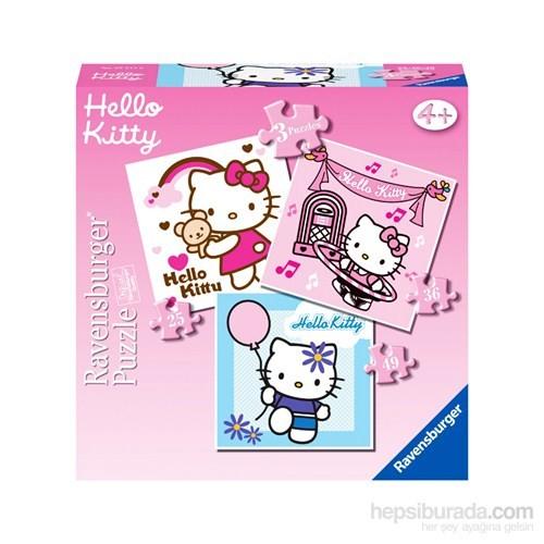 Ravensburger Hello Kitty - 25,36,49 parçalı 3 in a box