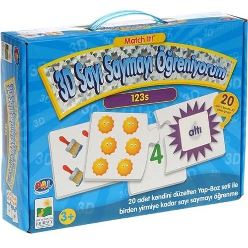 Pal Oyuncak 3D-Sayı Saymayı Öğreniyorum