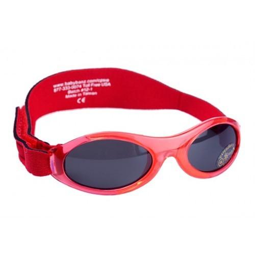 Banz Kırmızı Güneş Gözlüğü 2-5 yaş