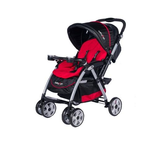 Baby2go Carnaval Çift Yönlü Bebek Arabası Kırmızı