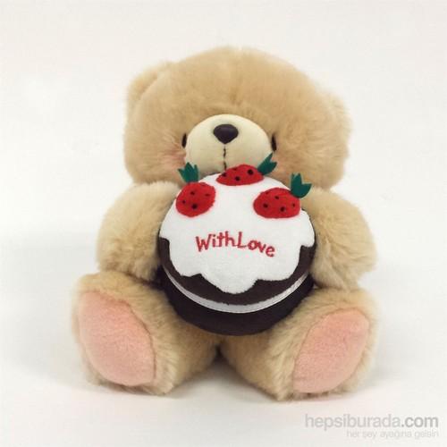 Hallmark 8'Inc Wıth Love'ınc Cake Peluş Ayı