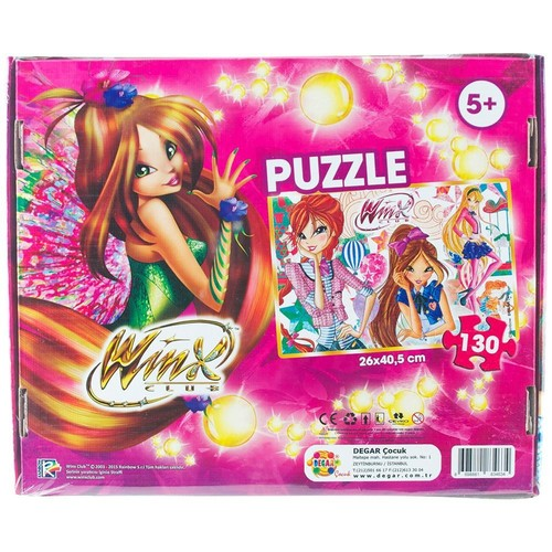 Degar Oyuncak Winx 130 Parça Puzzle