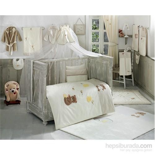 Kidboo Honey Bear Linen Nevresim Takımı