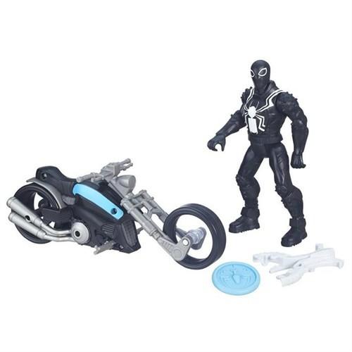 Spiderman Web City Agent Venom Araç Ve Figür Set