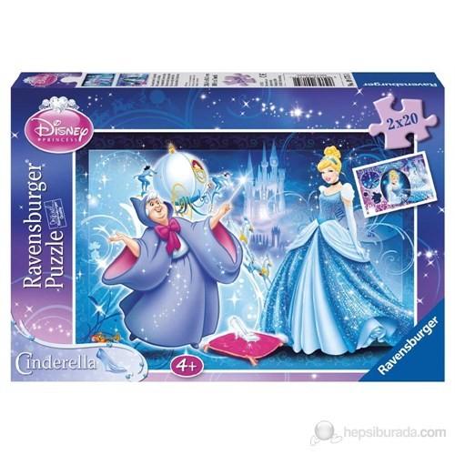 Ravensburger Wd Gözalıcı Cinderella 2x20 Parçalı