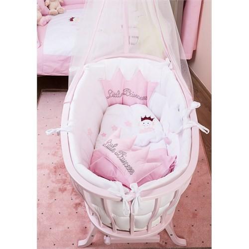 Aybi Baby Beşik Tekstili Müzikli 10 Parça Little Princess