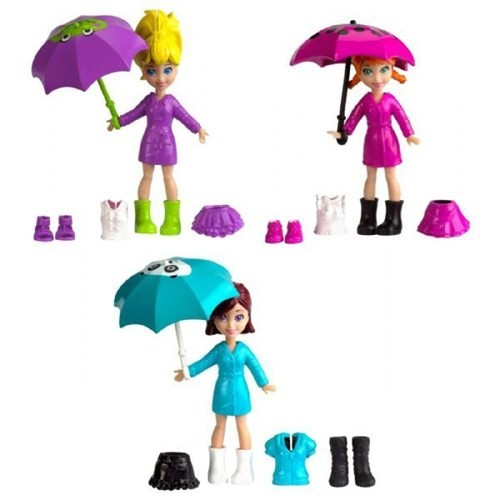 Polly Pocket & Arkadaşları Eğlencede-Yağmurlu