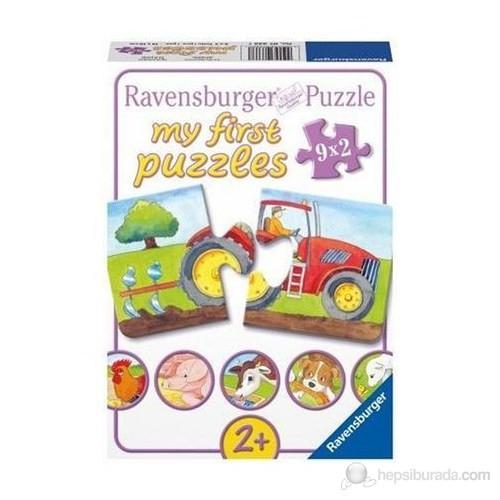 Ravensburger İlk Puzzle Çiftlik 9x2