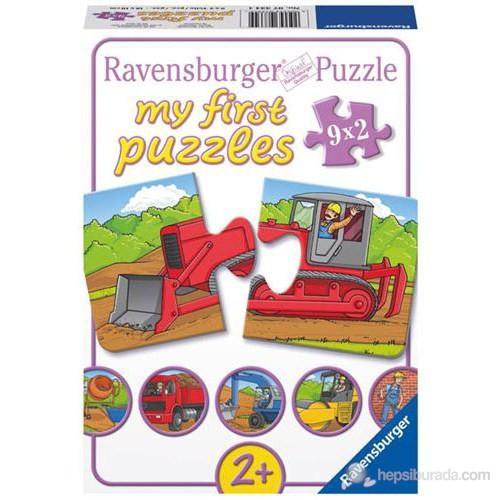 Ravensburger İlk Puzzle Ağır Vasıtalar 2x20 Parçalı