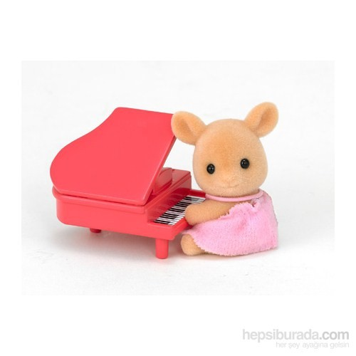 Sylvanian Families / Deer Baby with piano (ESF1487)