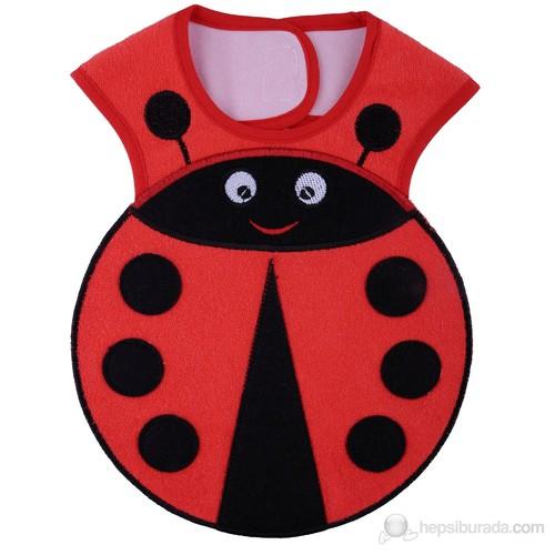 BabyJem Uğur Böceği Önlük / Kırmızı