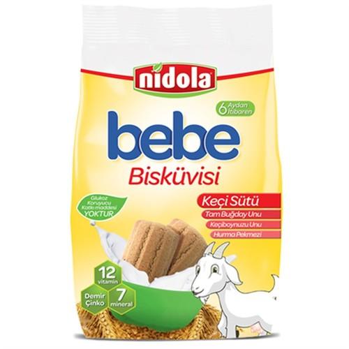 Nidola Keçi Sütlü Bebek Bisküvisi 200 gr