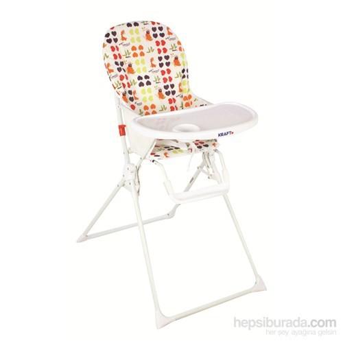 Kraft Basic Mama Sandalyesi - Happy Beyaz