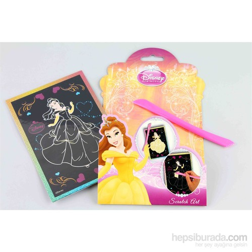 Disney Disney Princess Scratch Art