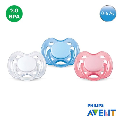 Philips Avent SCF178/63 0% BPA Free Flow Yalancı Emzik 0-6 ay Renkli 2'li