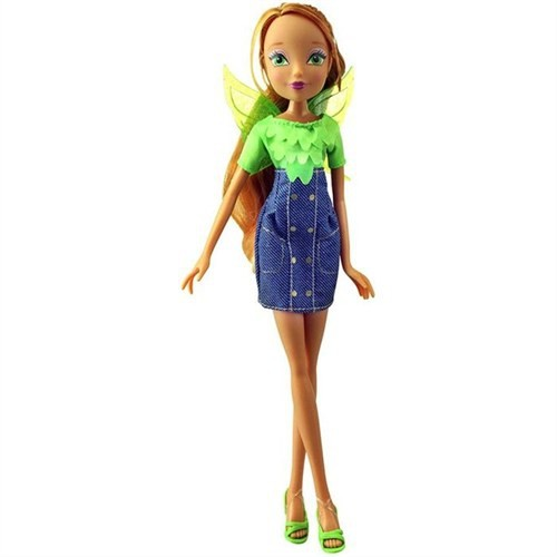 Winx Club Denim Fairy Flora