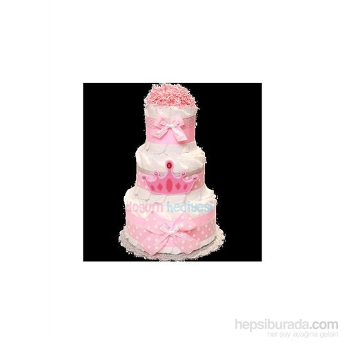 Pamuk Prenses Bebek Bezi Pastası