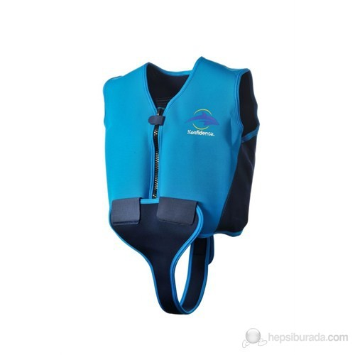 Konfidence Yüzmeye Yardımcı Ceket Mavi / 10-12 Yaş