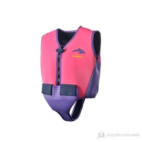 Konfidence Yüzmeye Yardımcı Ceket Pembe / 10-12 Yaş