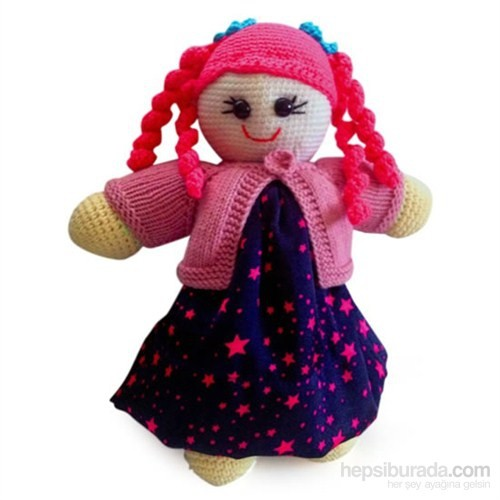 Damla Oyuncak Oyun Arkadaşım Pembe Saçlı Kız Bebek