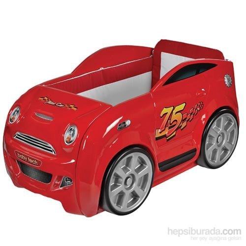 Baby Tech 131 Mini Car Bebek Beşiği Kırmızı
