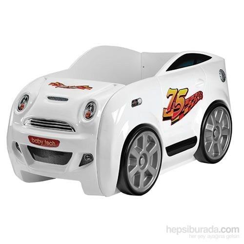 Baby Tech 132 Mini Car Bebek Beşiği Beyaz