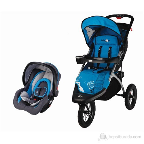 Baby2go Joger Rally Travel Sistem Bebek Arabası Mavi