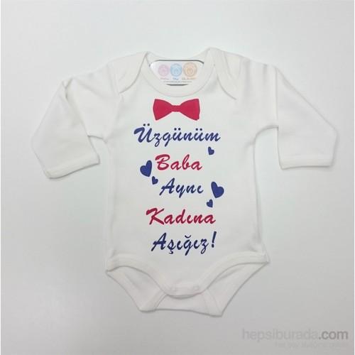 Baby By Bumbo Baskılı Badi Üzgünüm Baba