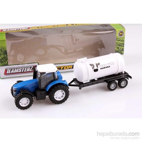 Nani Toys Römorklu İş Traktörü 1/32 Diecast Model Araç
