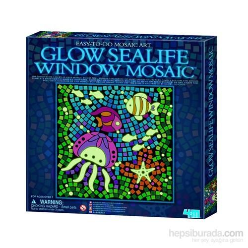 4M Parlayan Pencere Mozaik - Deniz Yaşamı