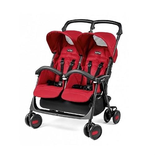 Peg Perego Aria Shopper Twin Classico Bebek Arabası Mod Red