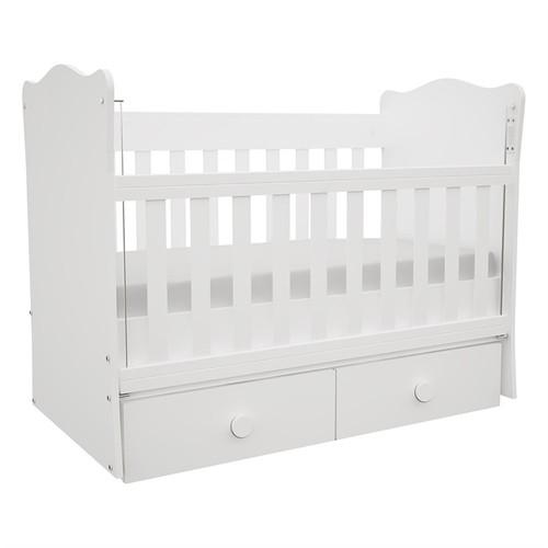 Babyhope 930 - 55 Büyüyen Beşik Parlak Beyaz 70 X 180 Cm