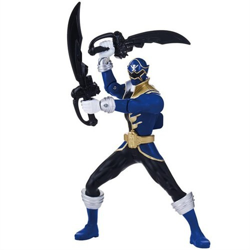 Power Rangers Süper Megaforce Blue Ranger Figür 15 Cm