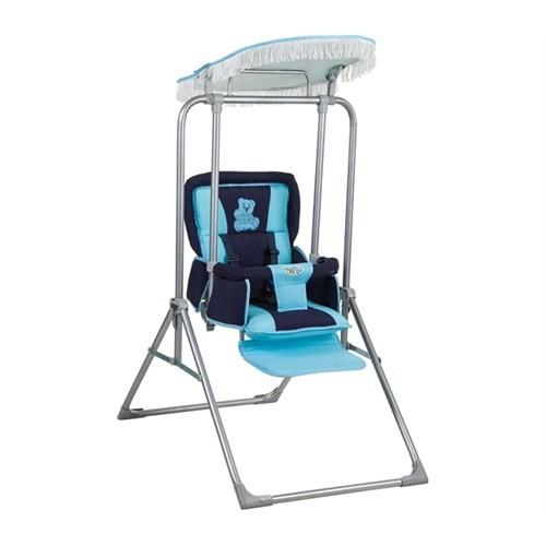 Pasha Baby Tam Yatabilir & Katlanabilir Lüks Salıncak Lacivert Mavi (0 60Kg Taşıma Kapasiteli)