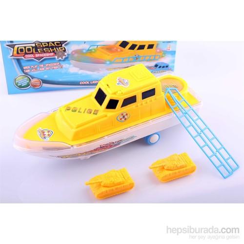 Nani Toys Işıklı ve Sesli Çarp Geç Uzay Gemisi