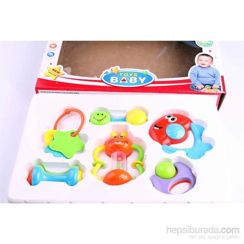 Nani Toys Mirth Angel Baby Bell Combination 6'lı Oyun Seti