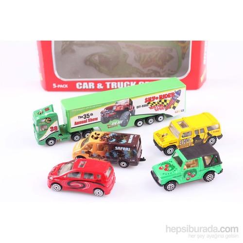 Nani Toys 5'li Araba ve Tır Diecast Oyun Seti