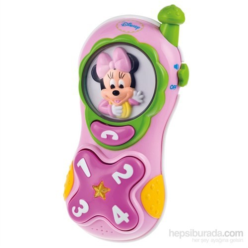 Disney Baby Minnie Cep Telefonu