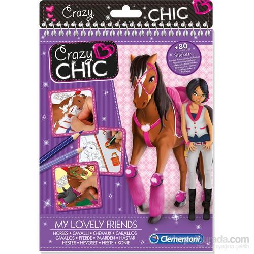 Clementoni Crazy Chic Moda Tasarım Defteri - Atlar