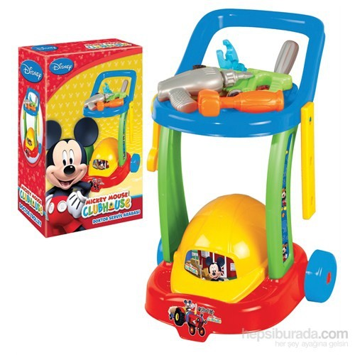 Mickey Mouse Tamir Servis Arabası (Yeni)