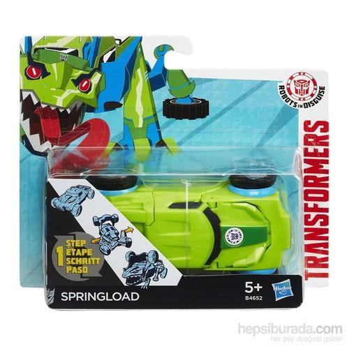Transformers Rıd Tek Adımda Dönüşen Figür Springload