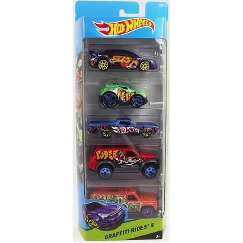Hot Wheels Graffıtı Rıdes Beşli Araba Seti Cdt17