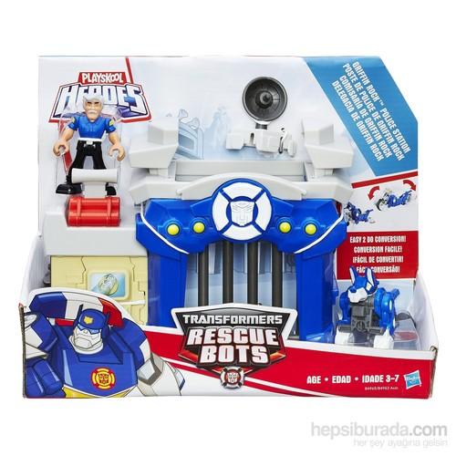 Transformers Rescue Bots Macera Seti Polis Kurtarma