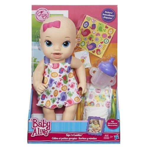 Baby Alive Bebeğimle Oyun Saati Beyaz Elbise