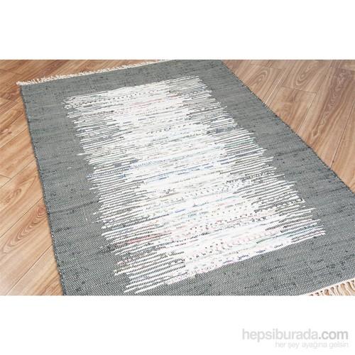 Esse Halı Ikat Mix Black Kilim 120x180 cm