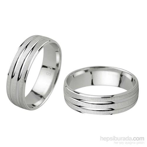 Ejoya Gümüş Çift Alyans B1048